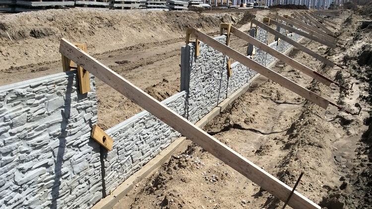 Mse Panel Retaining Walls Structures